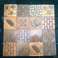Copper Tile | Abyakta Art