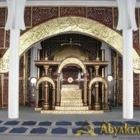 Relief & Kaligrafi Masjid